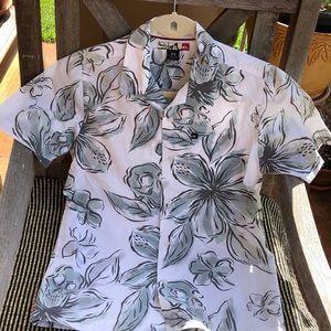 Quicksilver Cotton Button Down Shirt